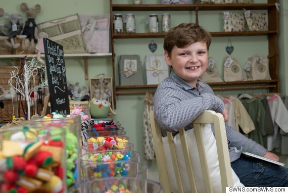 Henry Patterson age 10. Henry Patterson Britain's youngest entrepreneur when he opened his own shop in Buckingham called Not Before Tea.  See MASONS story MNSWEETS: Britain's youngest entrepreneur Henry Patterson is making nearly £1,000 a week after the success of his new children's book business. The 11 year-old invested his own earnings and used £17,000 of grant funding to produce a children's book and merchandise branded with characters from his sweet shops. Henry has revealed that annual sales exceeded £65,000 and his products are stocked by more than 70 different companies including Fenwick and Not on the High Street. After using his profits to buy himself a puppy, Henry, of Lidlington, Beds, has now launched his own YouTube children's channel, NBTV